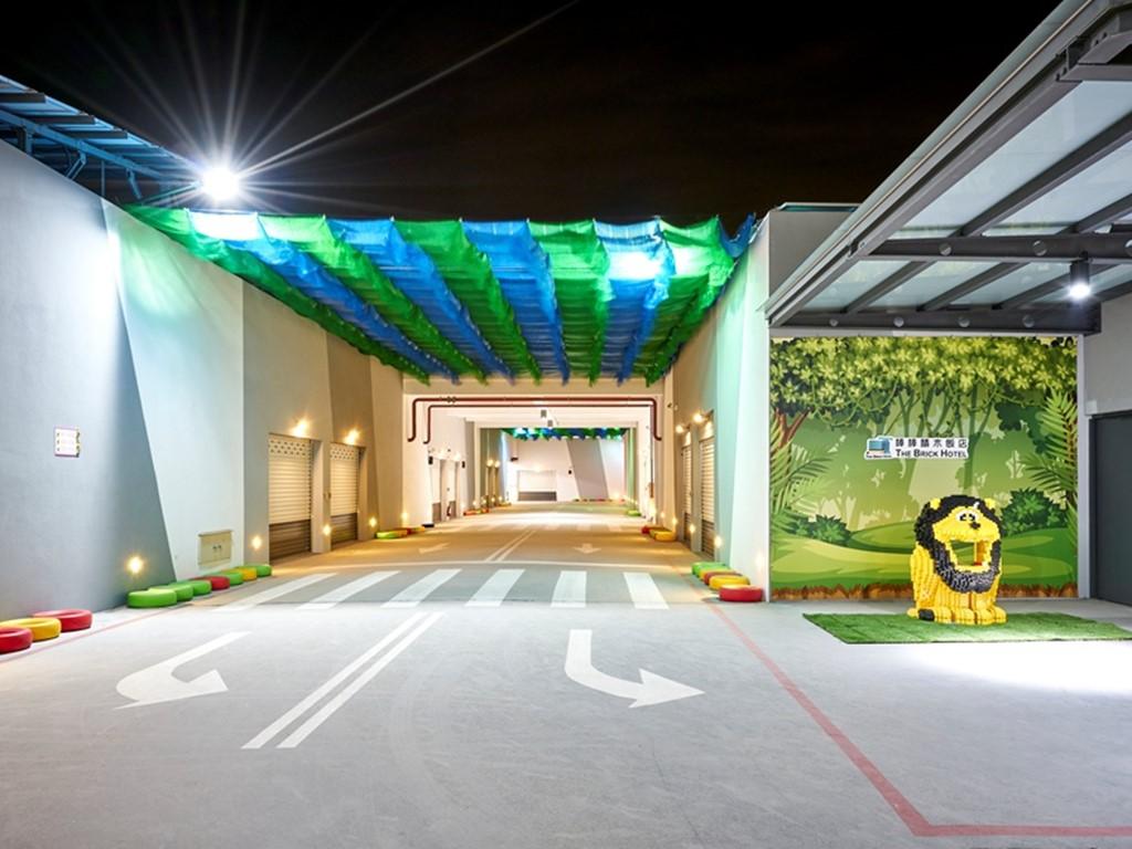 棒棒積木飯店親子館兒童專屬賽車道