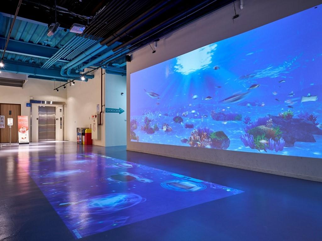 棒棒鯨奇樂園鯨奇深海VR互動區