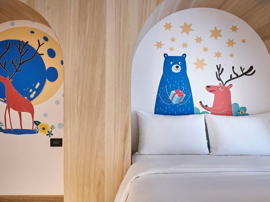 麋鹿樂園A床鋪B