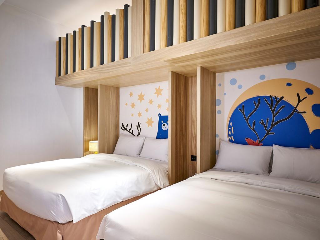 麋鹿樂園A床鋪C