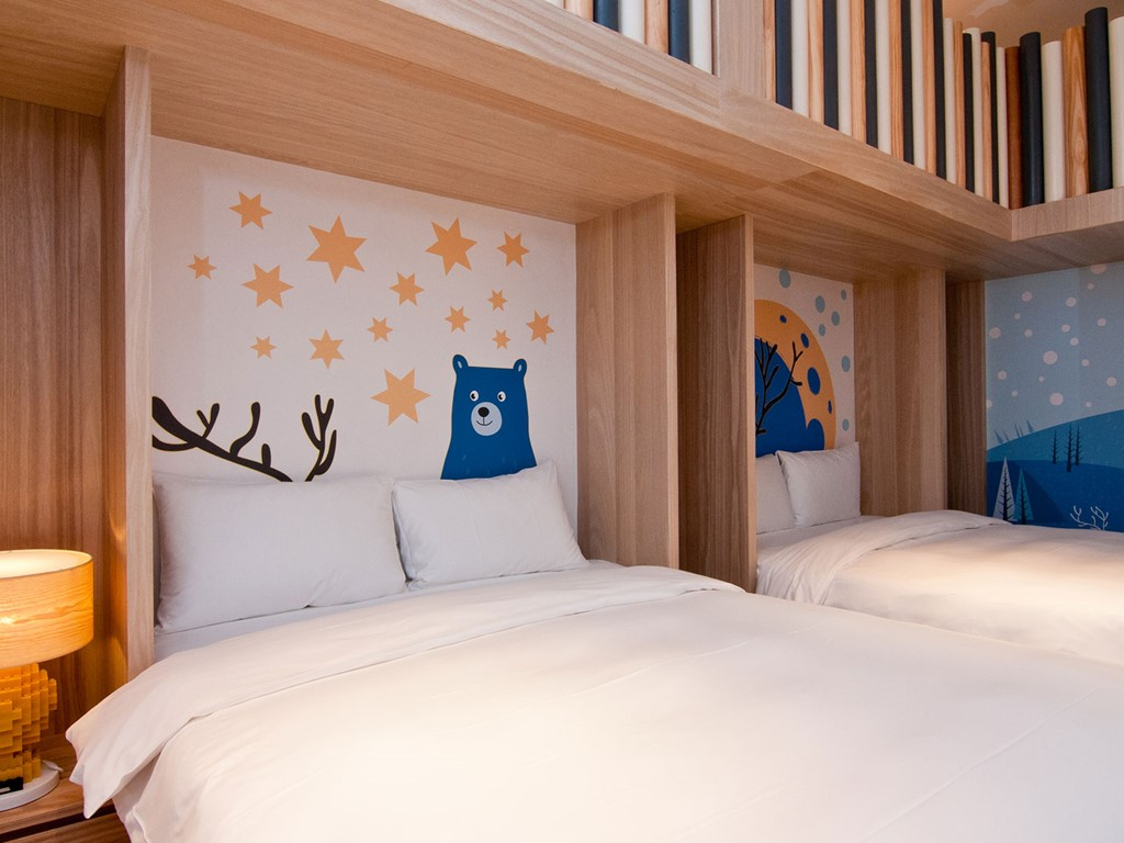 麋鹿樂園A床鋪A
